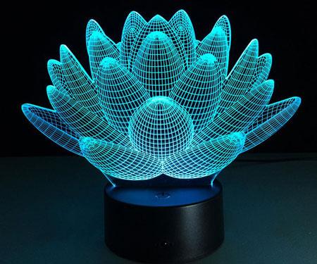Blooming Lotus Desk LampBlooming Lotus Desk Lamp