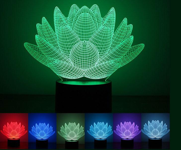 Blooming Lotus Desk Lamp