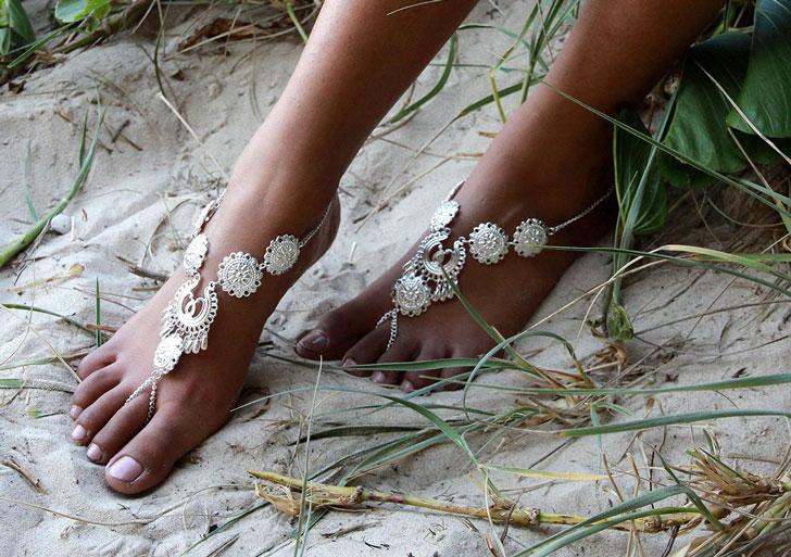 Bohemian Goddes Barfoot Sandals