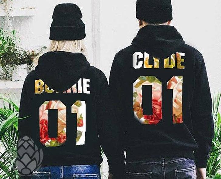 Bonnie & Clyde Hoodies