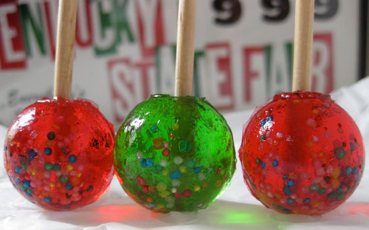 Candy Apple Lollipops