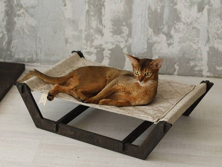 Cat Sled Hammock Bed