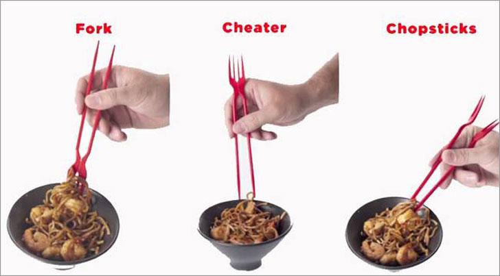 Chork Chopstick Forks