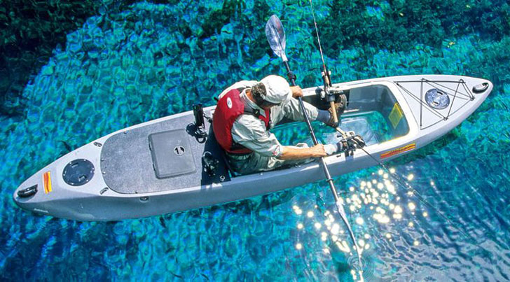 Clear Bottom Fishing Kayaks