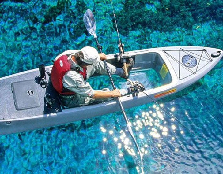 Clear Bottom Fishing Kayaks