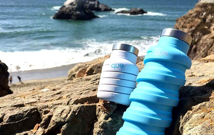 Collapsible Silicon Water Bottles
