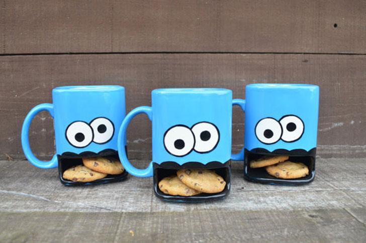 Cookie Monster Mugs - Funny Coffee Mugs