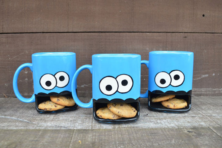 Cookie Monster Mugs - Funny Coffee Mugs
