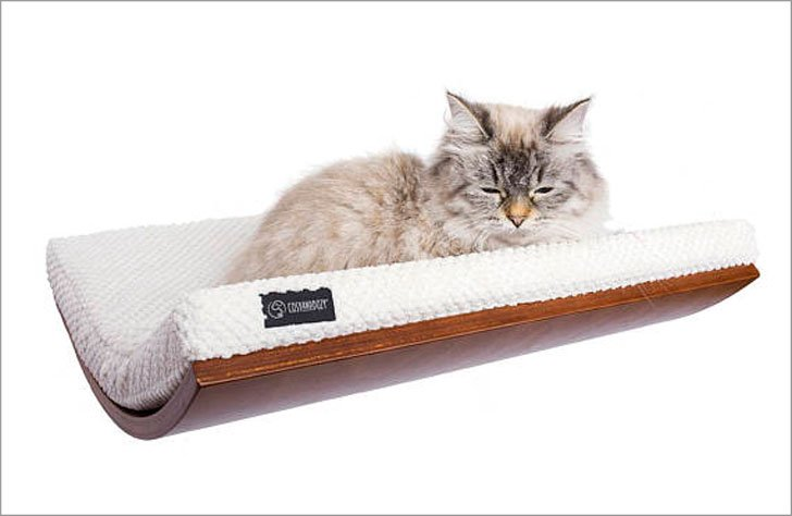 Cozy and Dozy Wall Shelf Cat Bed