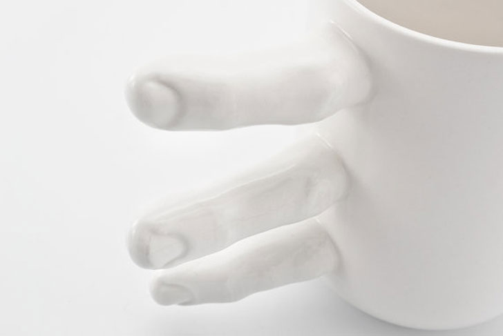 Creepy Holding Hands Coffee Mugs