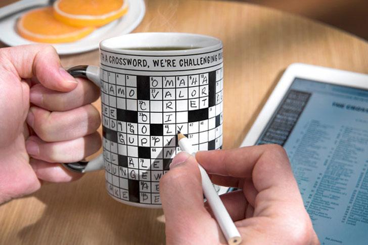 Crossword Puzzle Coffee Mug