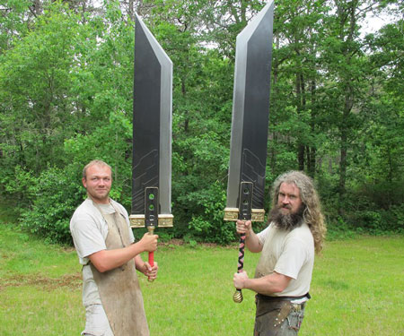 Custom Made Giant Swords