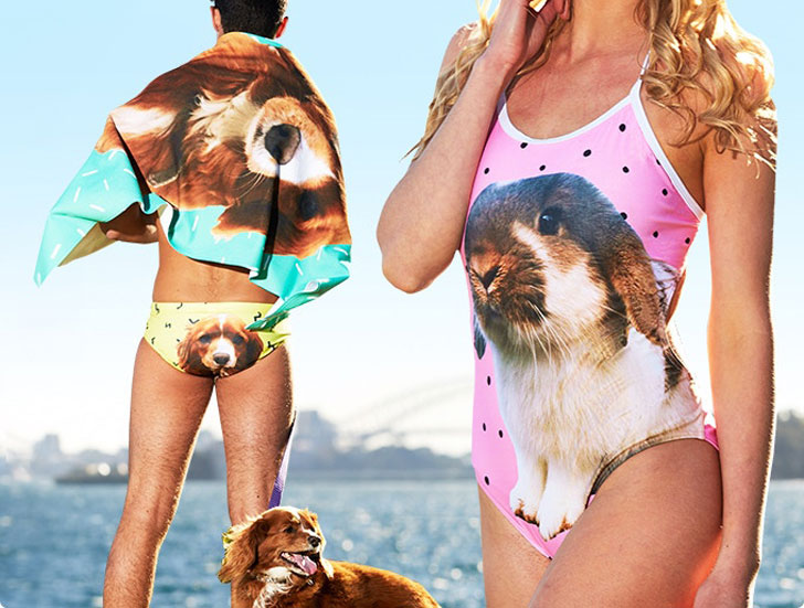 Custom-Made Pet Swimwear