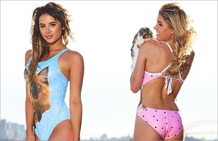 Custom-Made Pet Swimwear