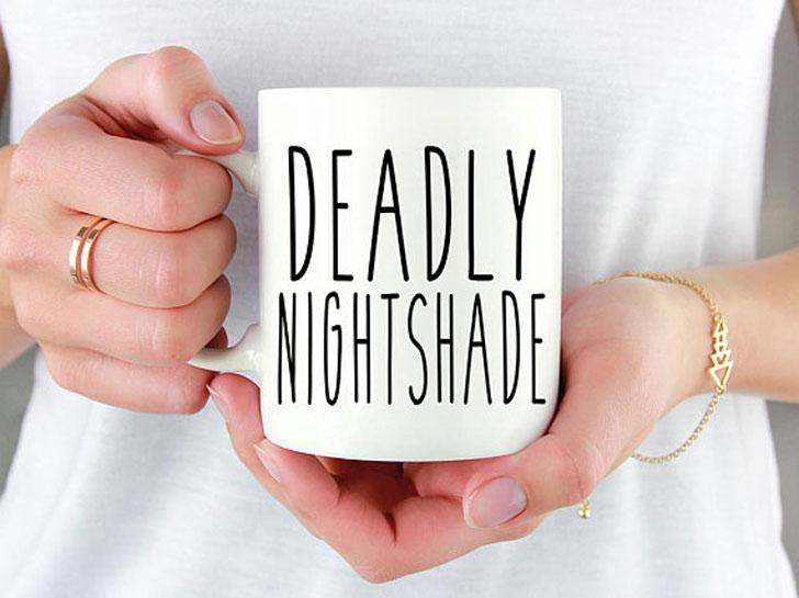 Deadly Nightshade Halloween Cup