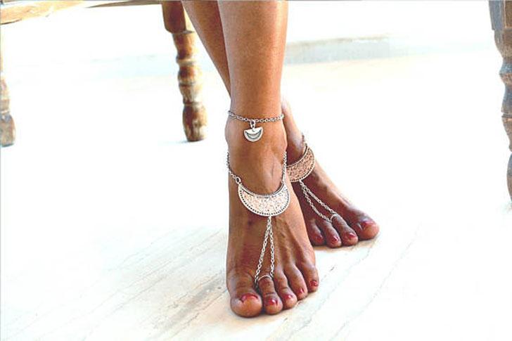 Dream Girl Barefoot Beach Sandals