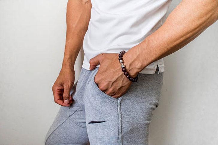 Dumbell Men's Fitness Beaded Bracelet