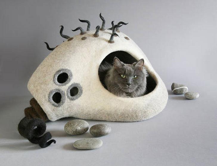 Eco-Friendly Cat Cave
