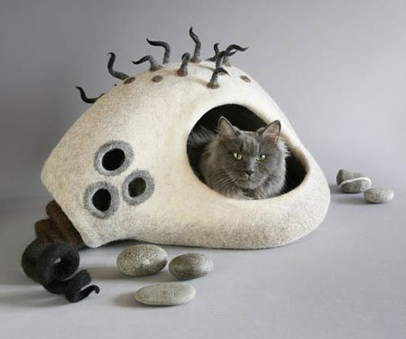 Eco-Friendly Cat Cave