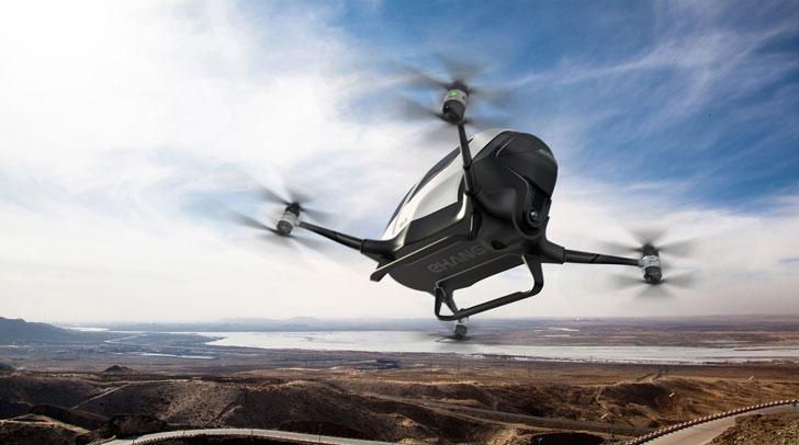 Ehangs Autonomous Passenger Drone