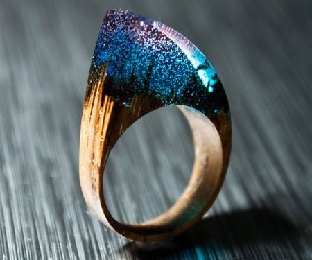 Enchanted Wooden Rings