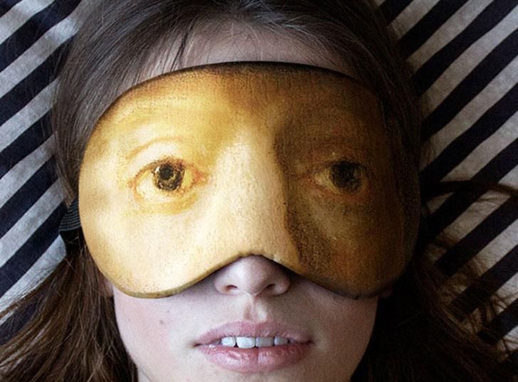Famous Art Sleeping Masks