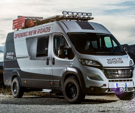 Fiat Ducato 4x4 Expedition Camper - Awesome Stuff 365