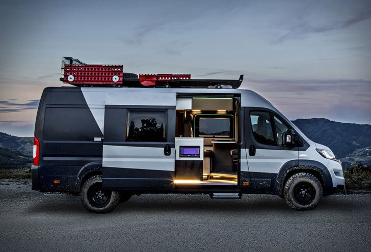 Fiat Ducato 4x4 Expedition Camper Awesome Stuff 365