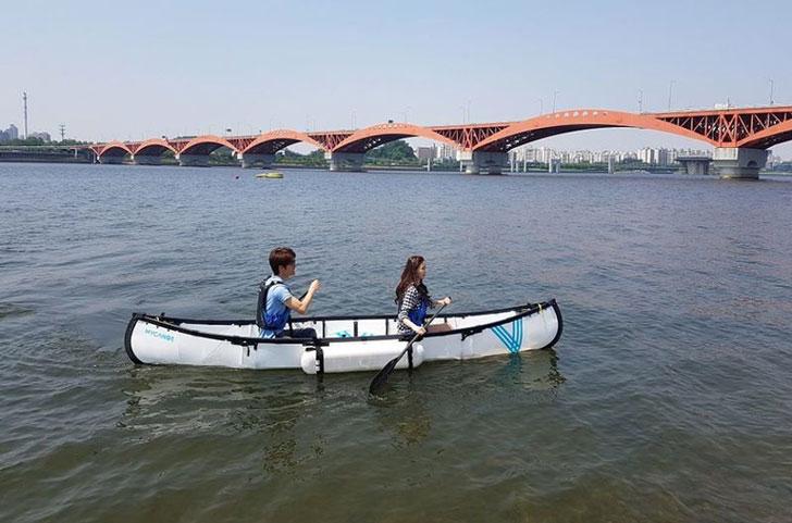 Foldable Origami Canoe / Kayaks