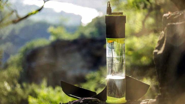 Fontus Self-Filling Water Bottles