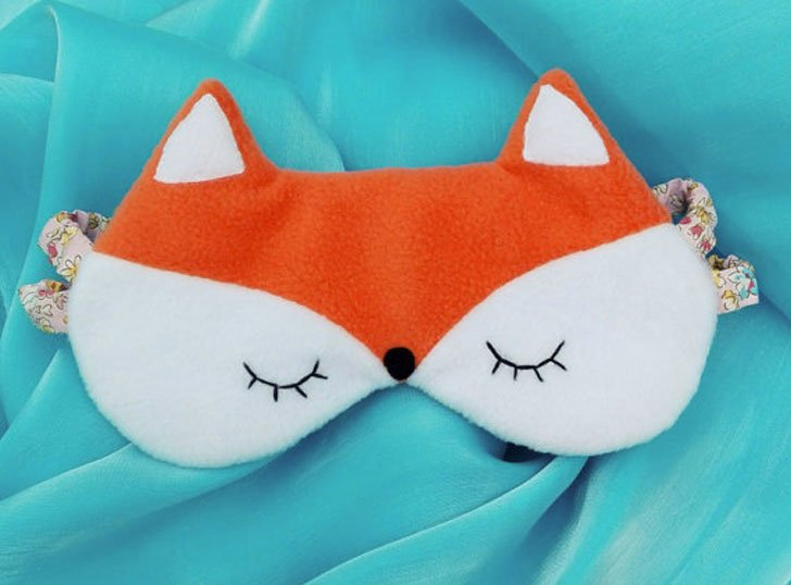 Fox Sleeping Eye Mask - Cute sleeping masks
