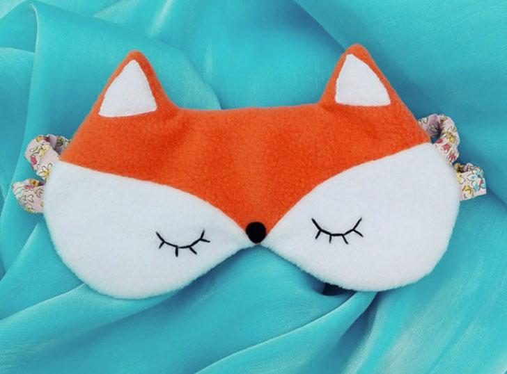 Fox Sleeping Eye Mask - Cute sleeping masks