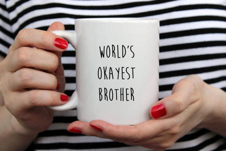 Funny Brother Mug