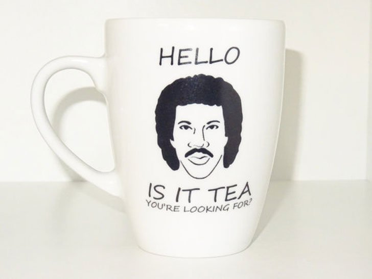 Funny Music Lyrics Novelty Tea Mug