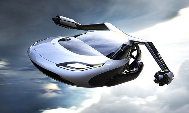 Futuristic Flying Cars