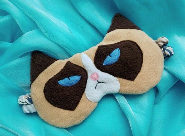 Grumpy Cat Eye Mask - Funny Sleeping masks