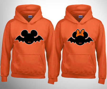 halloween couples hoodies