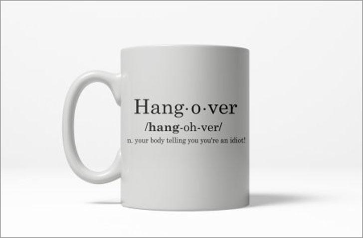 Hangover Definition Mug