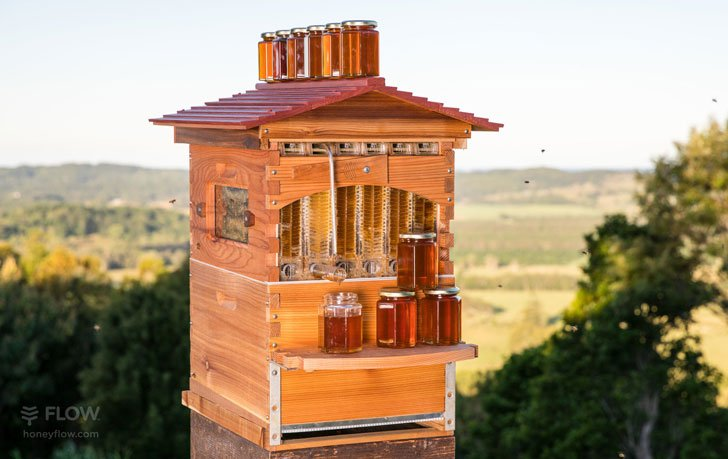 Honey Flow Self-Harvesting Beehives