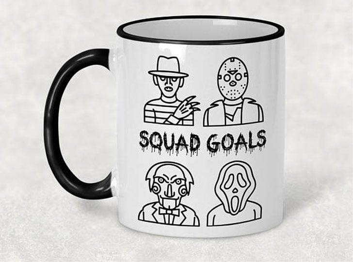 Horror Squad Goals Mug