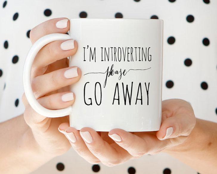 I'm Introverting Mug