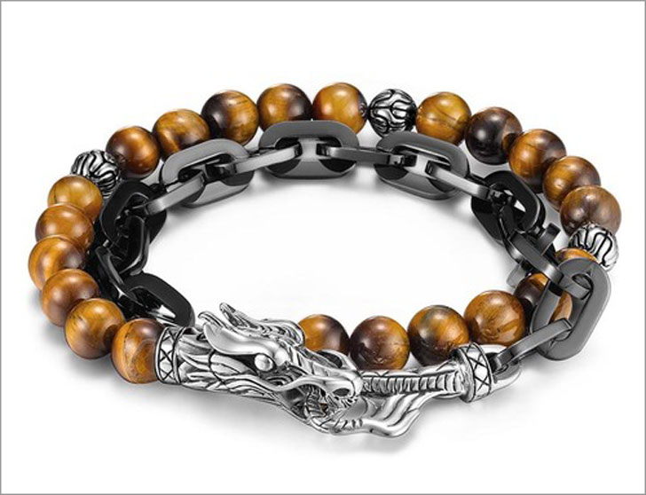 JOHN HARDY Legends Naga Double Wrap Link Bracelet