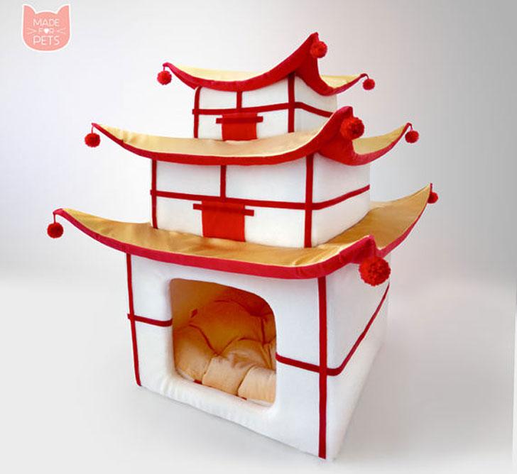 Japanese Pagoda Cat House