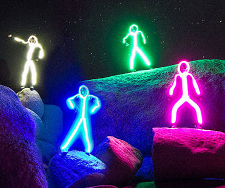 LED Stick Figure Costumes