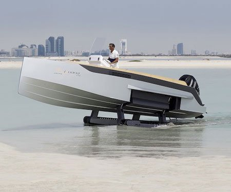 Luxurious Amphibious Boats