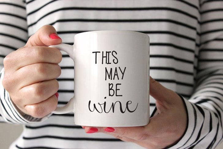 May Be Wine Mug