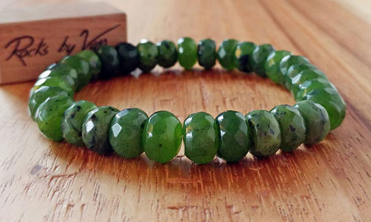 Men's Nephrite Jade Bracelet