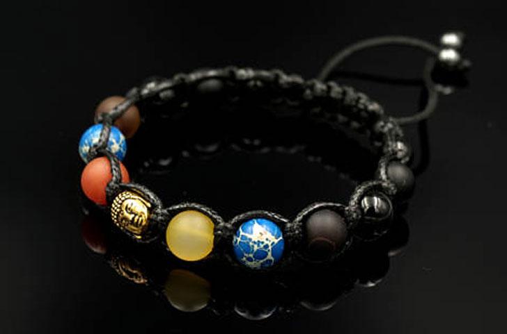 Men's Shamballa Buddha Bracelet