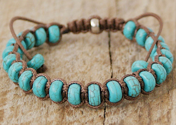 Men's Shamballa Healing Bracelet