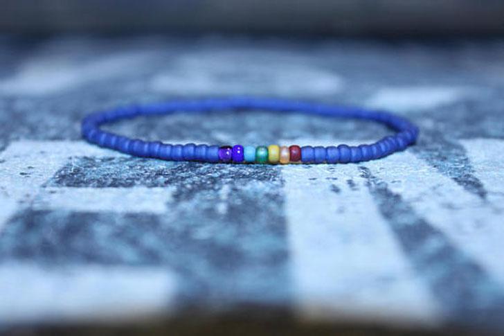 Minimal Seed Beaded Healing Bracelet